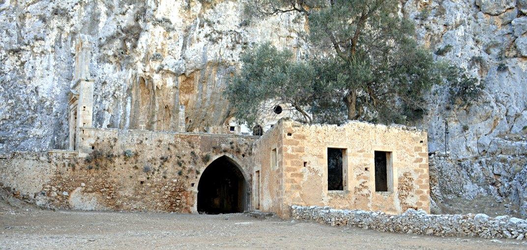 Kreta: abandoned box