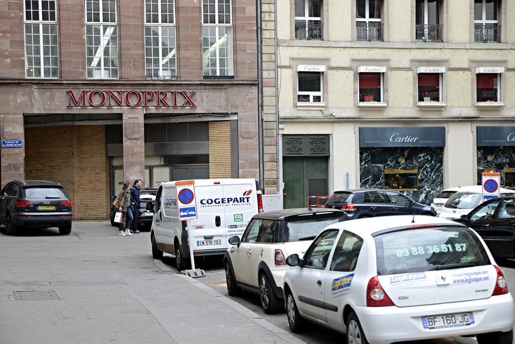 Strasbourg Monoprix et Cartier